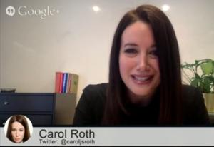 Carol Roth Hangout