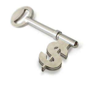 key to the money