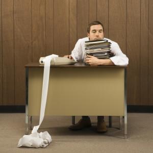 paperwork overwhelm