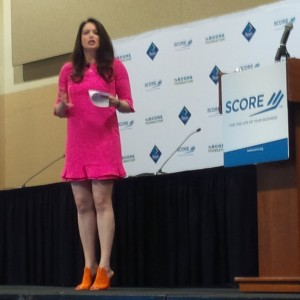 Carol Roth presenting SCORE 2016