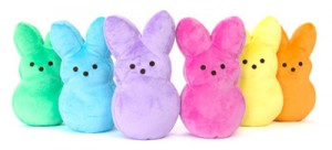 Peeps Plush Bunnies